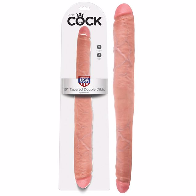KING-COCK-16-TAPERED-DOUBLE-DILDO