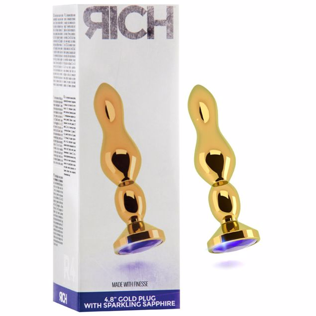 R4-GOLD-PLUG-4-8-INCH-PURPLE-SAPHIRE-RICH