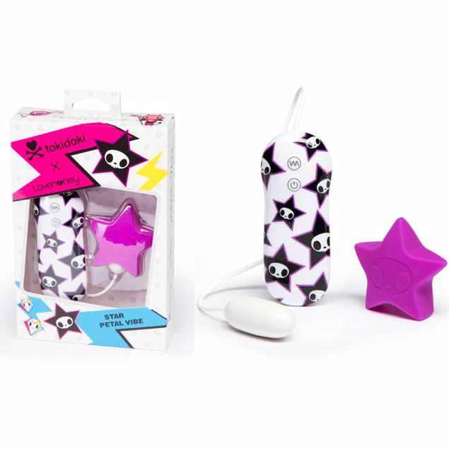 TOKIDOKI-10-FUNCTIONS-SILICONE-PINK-STAR-CLITORAL