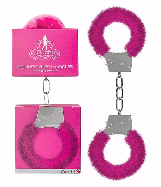 BEGINNERS-HANDCUFFS-FURRY-PINK-OUCH