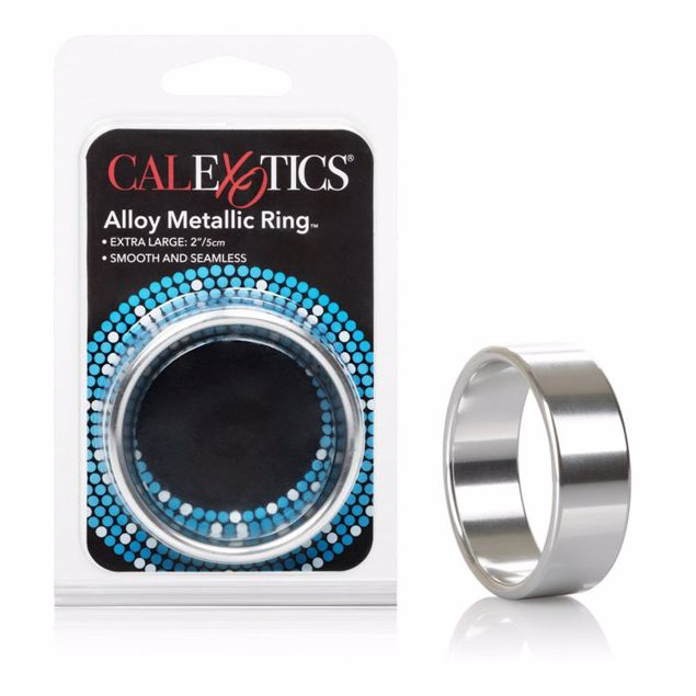 Alloy-Metallic-Ring-XL-Silver