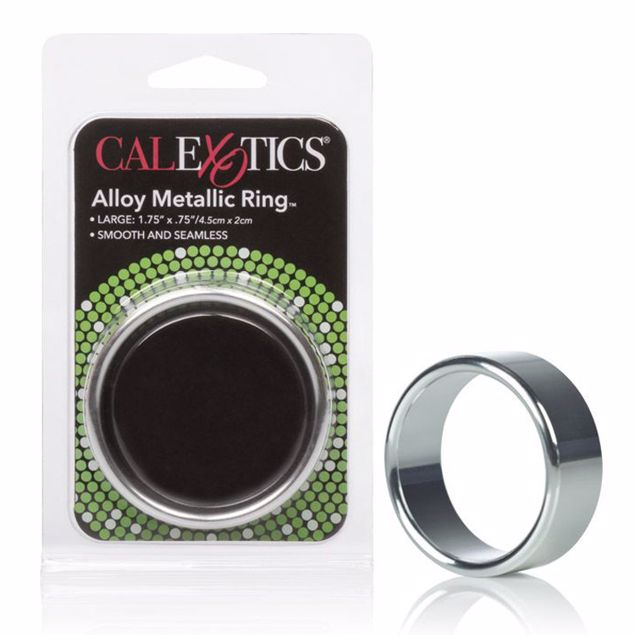 Alloy-Metallic-Ring-Large-Silver